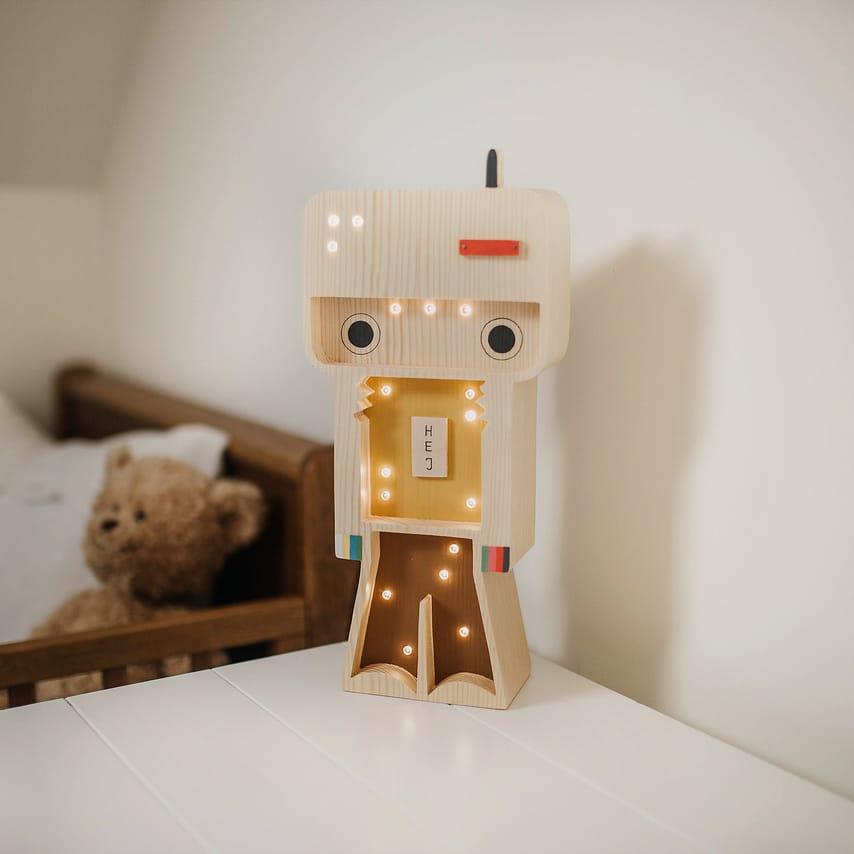 led-lampa-robot